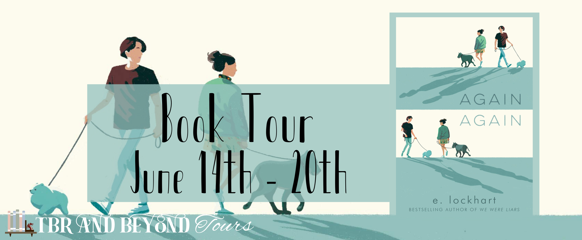 Blog Tour: Again, Again by E. Lockhart (Reading Journal + Giveaway!)