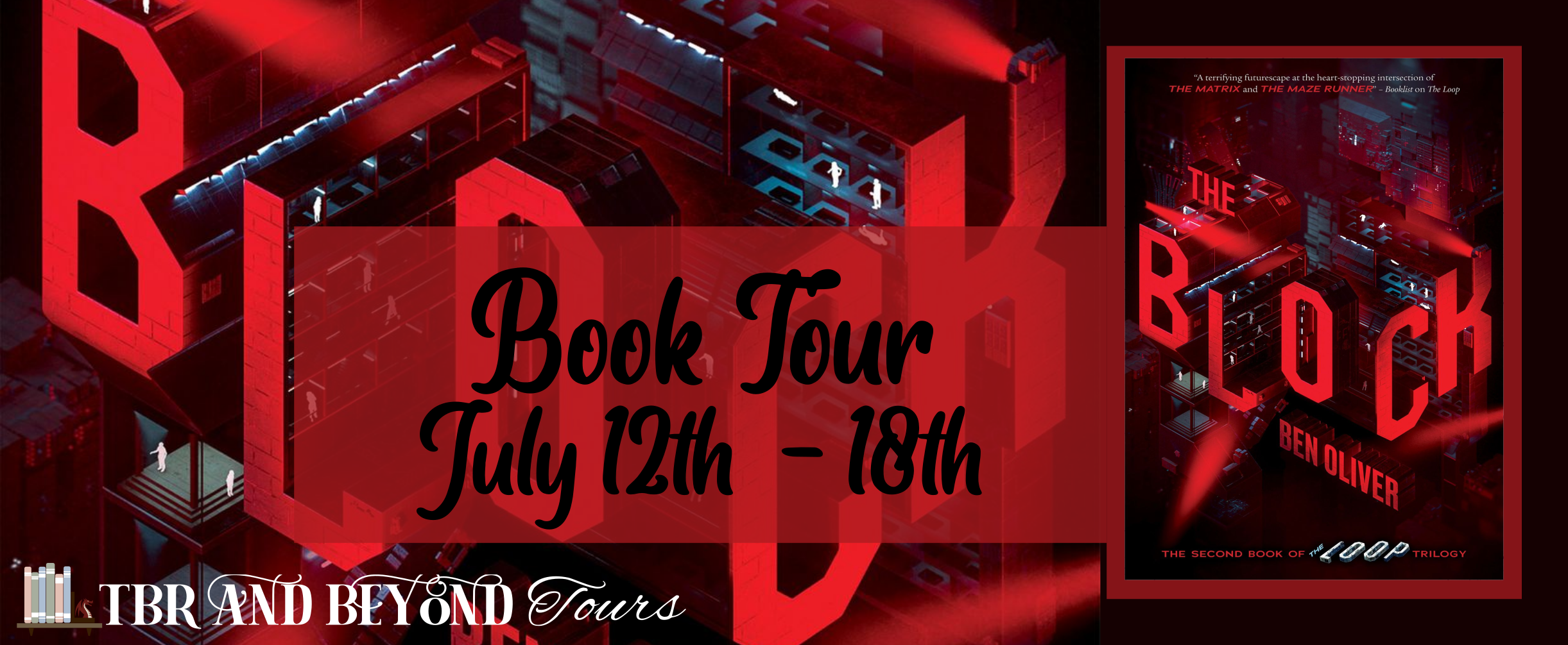 Blog Tour: The Block by Ben Oliver (Interview + Giveaway!)