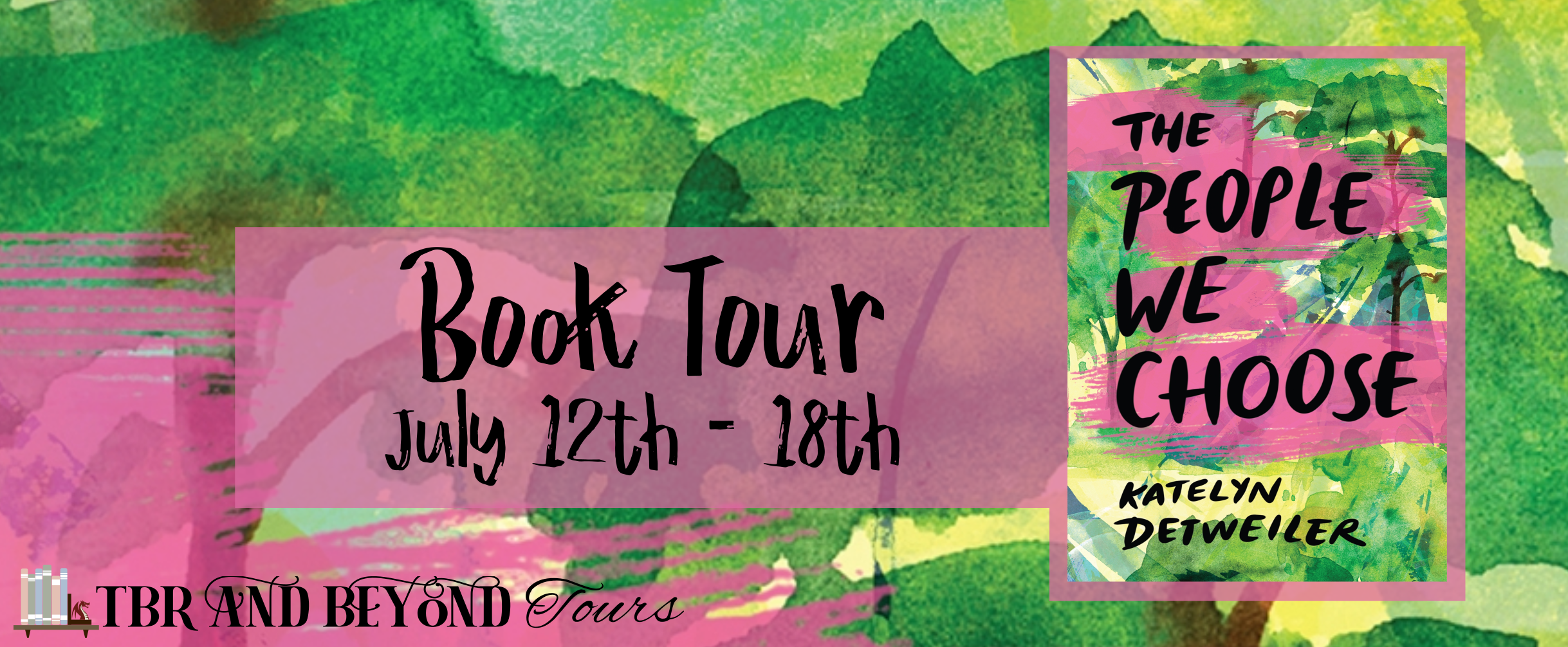 Blog Tour: The People We Choose by Katelyn Detweiler (Interview + Aesthetic Board!)