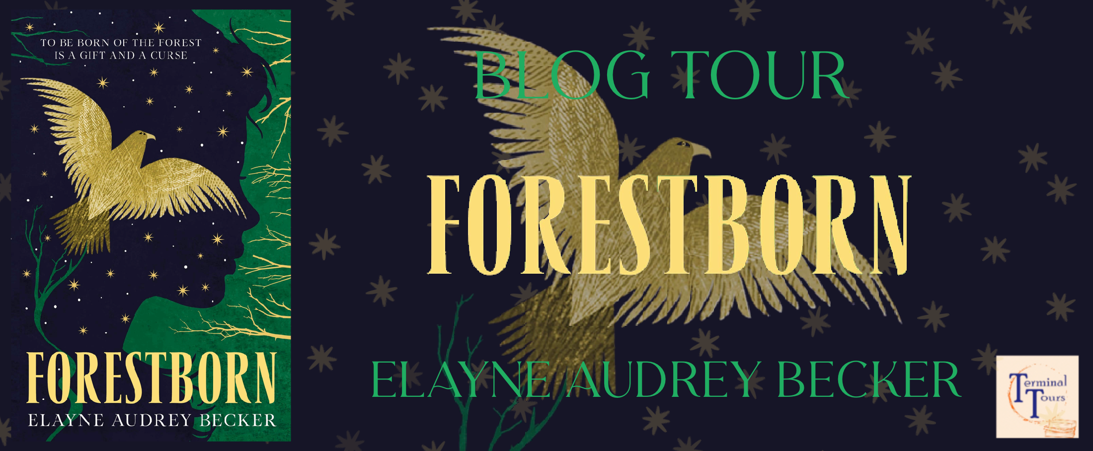 Blog Tour: Forestborn by Elayne Audrey Becker (Guest Post + Aesthetic Board!)