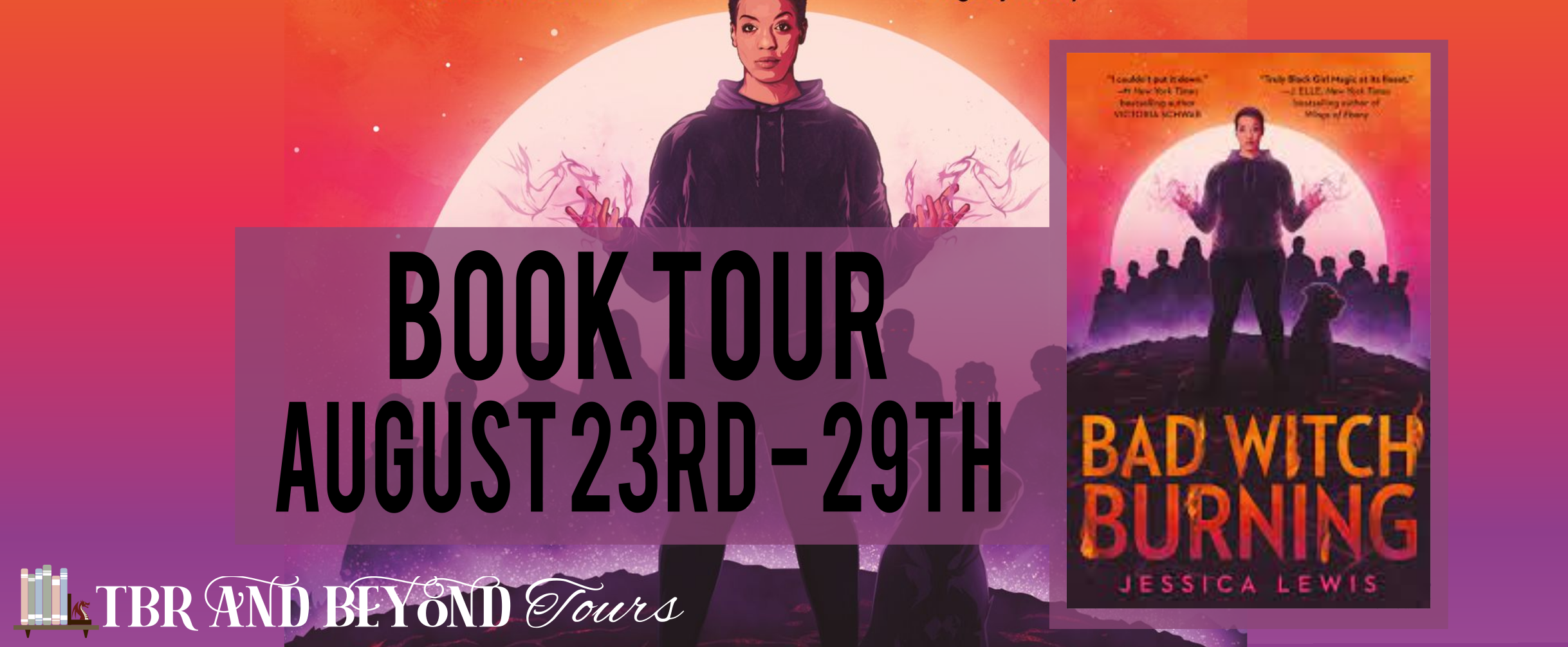Blog Tour: Bad Witch Rising by Jessica Lewis (Reading Journal!)