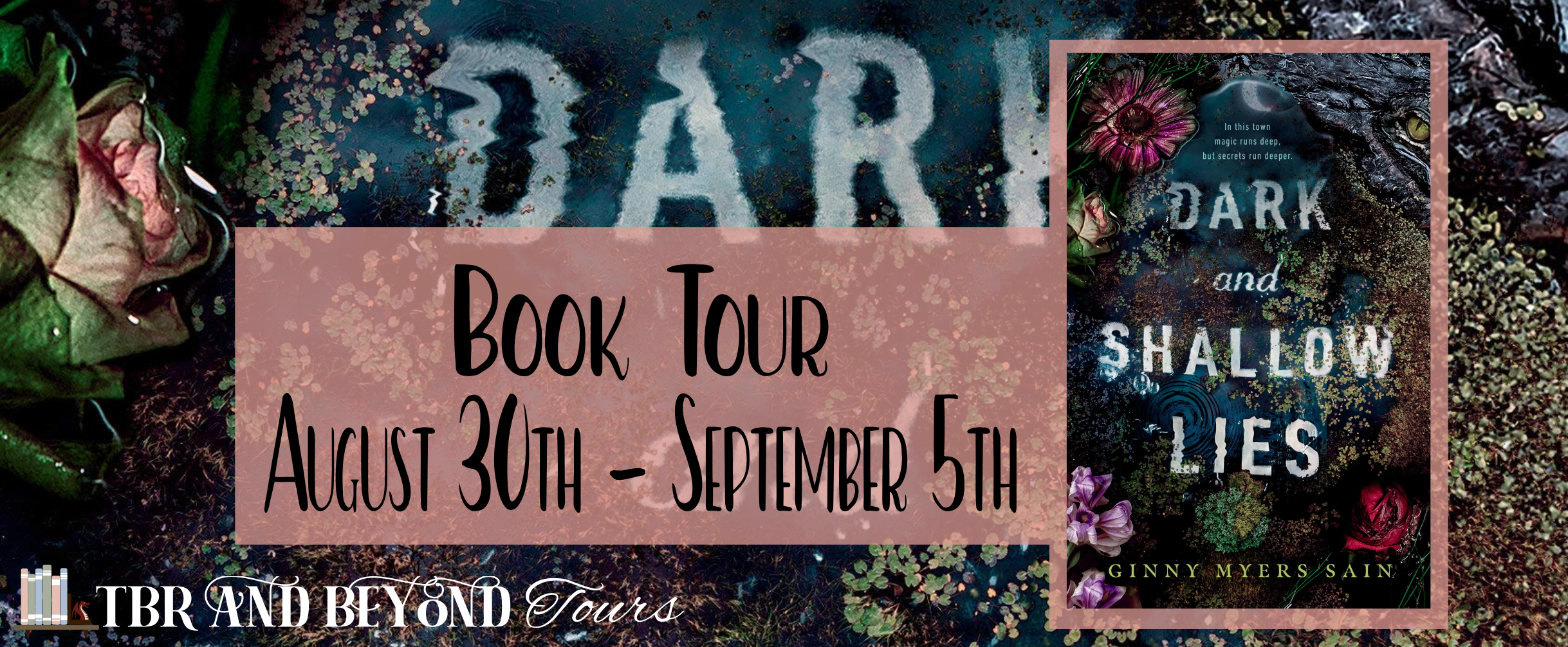 Blog Tour: Dark and Shallow Lies by Ginny Myers Sain (Interview + Giveaway!)