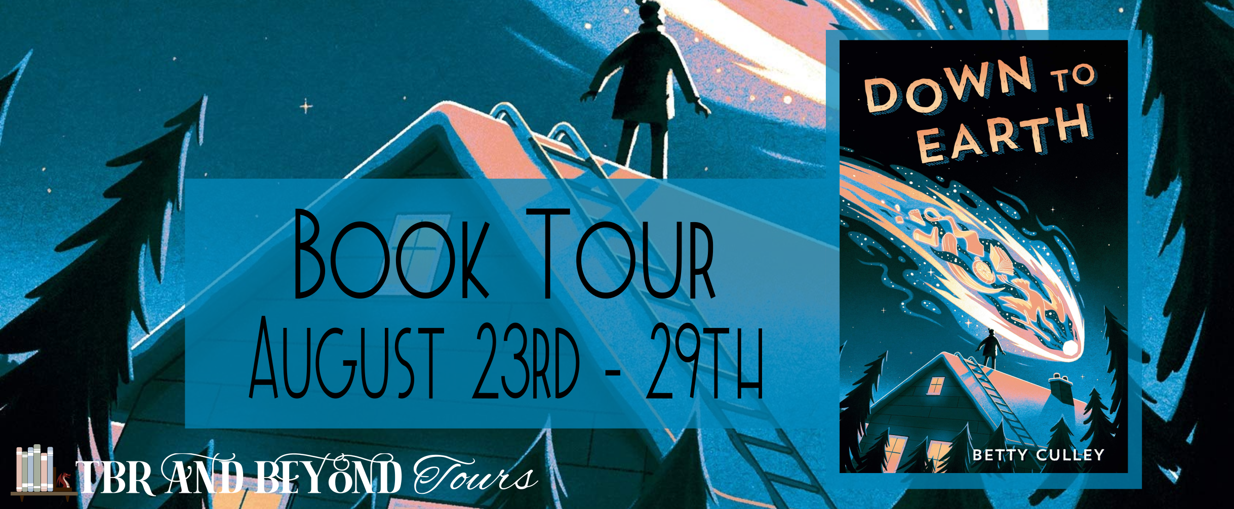 Blog Tour: Down to Earth by Betty Culley (Interview!)