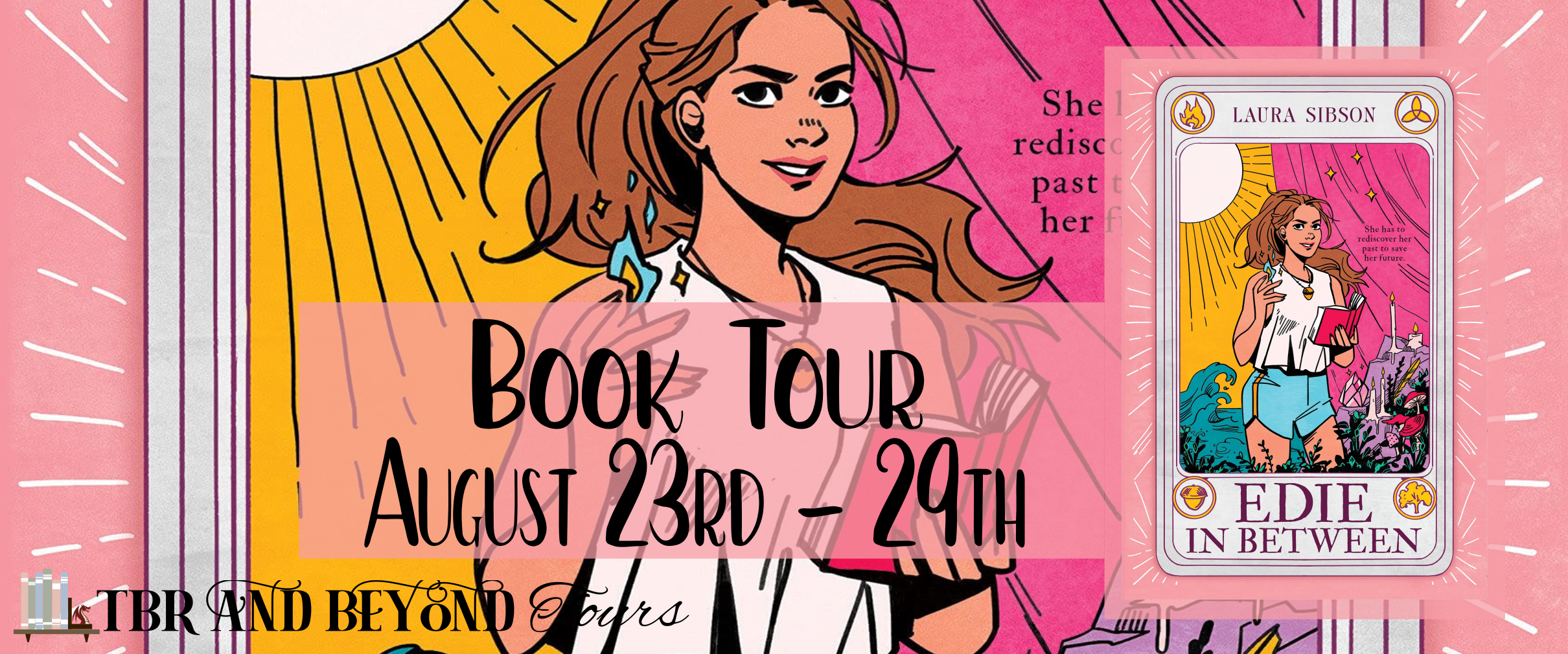 Blog Tour: Edie in Between by Laura Sibson (Interview + Aesthetic Board!)