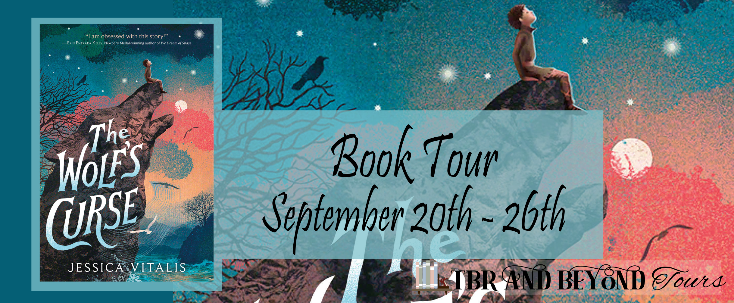 Blog Tour: The Wolf's Curse by Jessica Vitalis (Interview!)