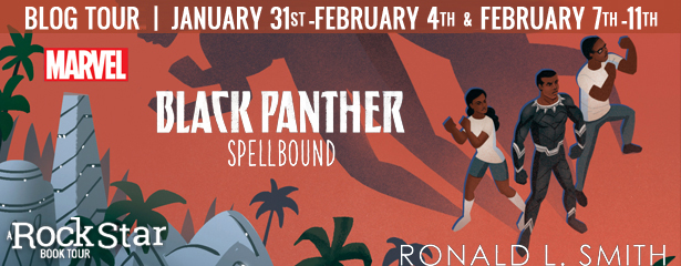 Blog Tour: Black Panther: Spellbound by Ronald L. Smith (Excerpt + Giveaway!)