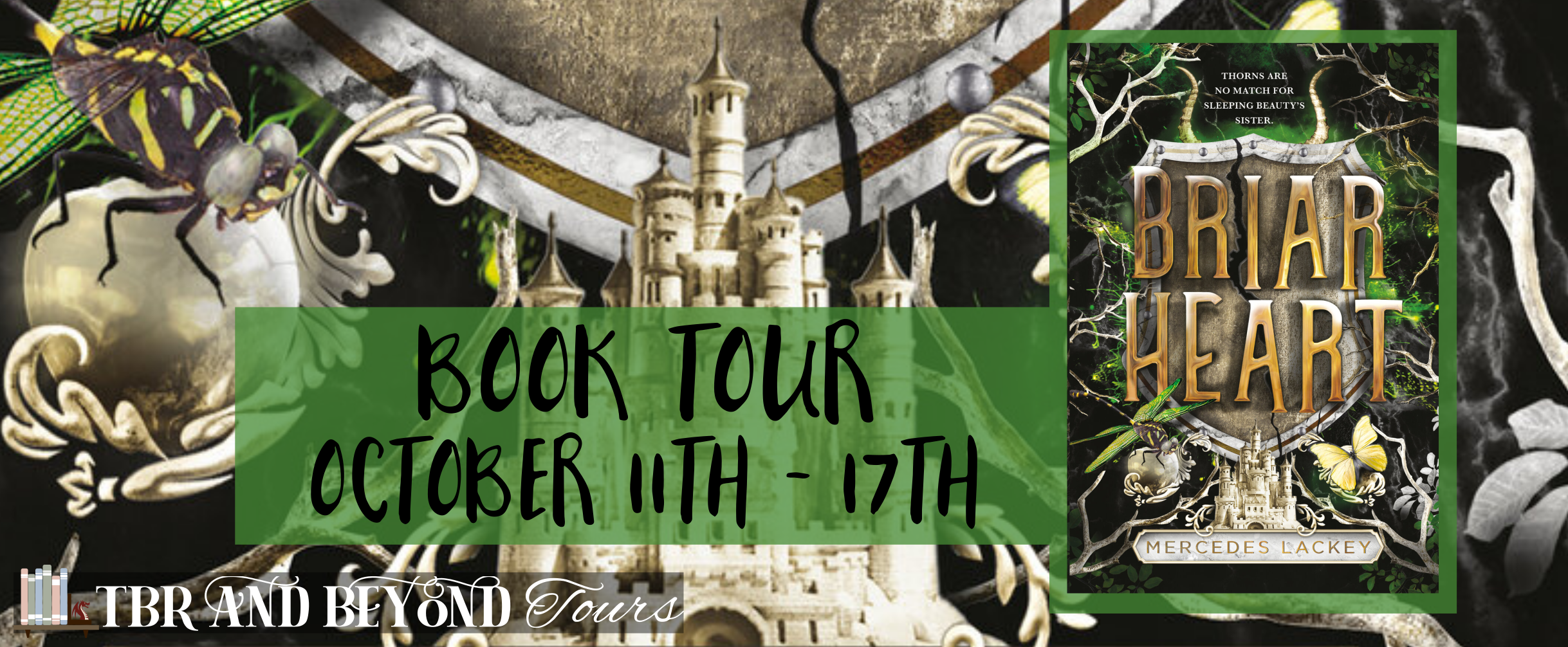 Blog Tour: Briarheart by Mercedes Lackey (Reading Journal + Giveaway!)