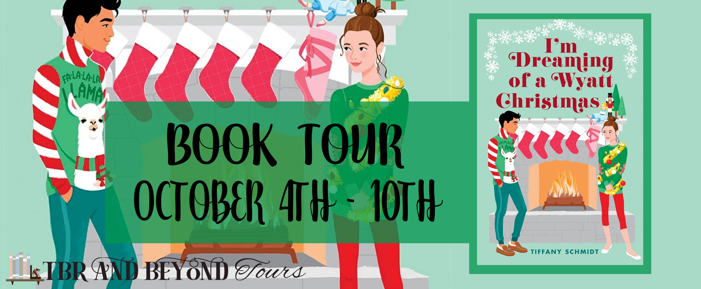 Blog Tour: I'm Dreaming of a Wyatt Christmas by Tiffany Schmidt (Interview!)