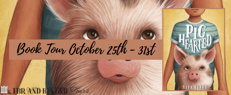 Blog Tour: Pighearted by Alex Perry (Aesthetic Board!)