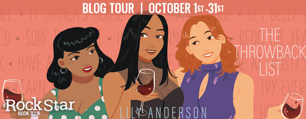 Blog Tour: The Throwback List by Lily Anderson (Review + Giveaway!)