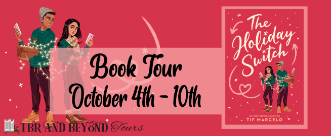 Blog Tour: The Holiday Switch by Tif Marcelo (Interview + Reading Journal!)