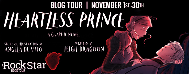 Blog Tour: Heartless Prince by Angela De Vito and Leigh Dragoon (Excerpt + Giveaway!)