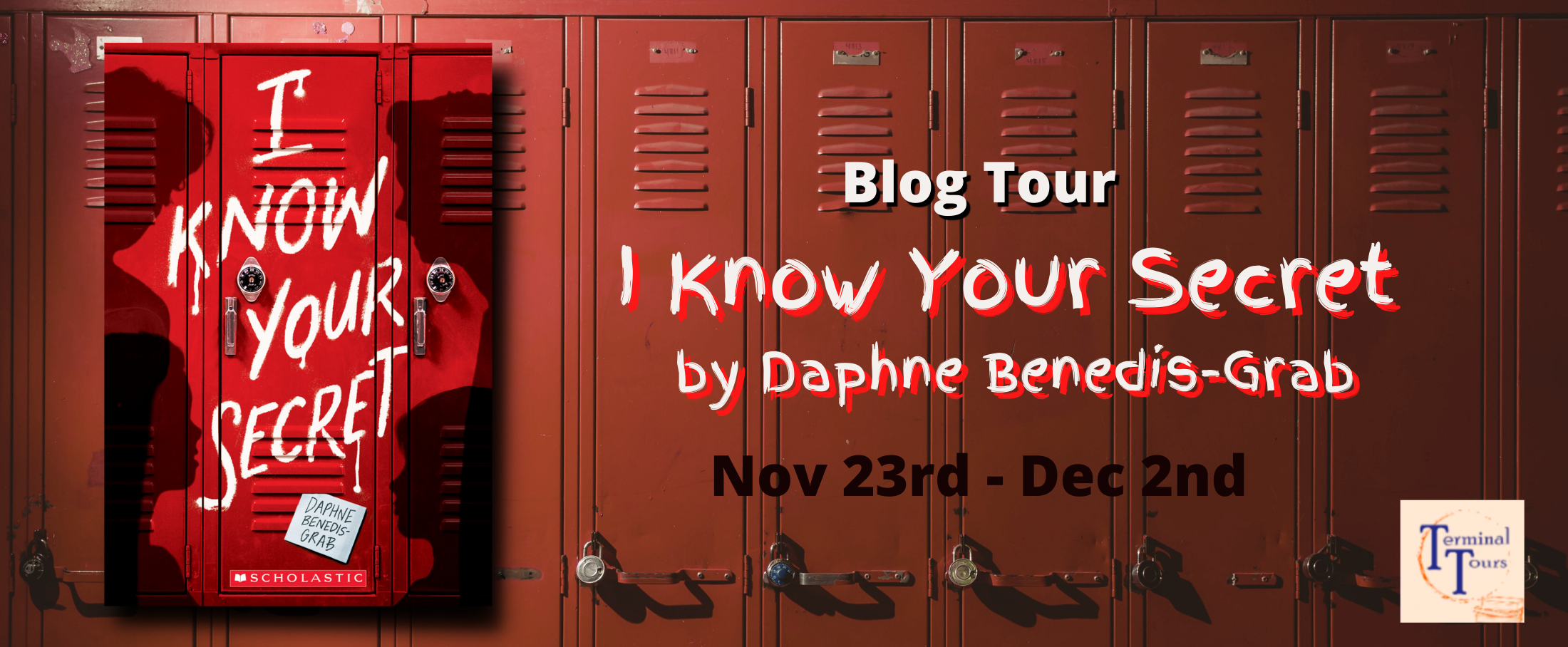 Blog Tour: I Know Your Secret by Daphne Benedis-Grab (Aesthetic Board!)