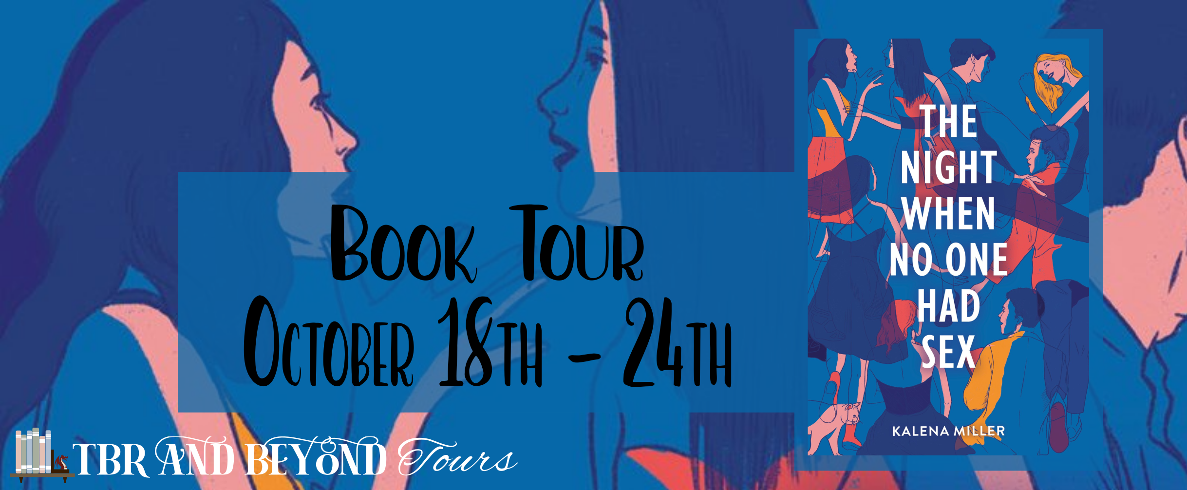 Blog Tour: The Night When No One Had Sex by Kalena Miller (Interview!)